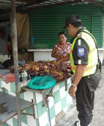 UPMA decomisó 200 cangrejos en tiempo de veda en Santo Domingo