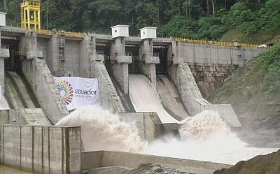 Resultado de imagen para energia hidroelectrica ecuador
