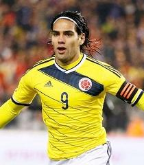 Con doblete de Falcao, Colombia golea 6-0 a Baréin