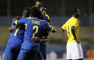 Ecuador vence 2-1 a Colombia y está a un paso del Mundial de Chile Sub-17