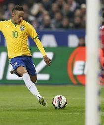 Comandado por Neymar, Brasil goleó 3-1 a Francia