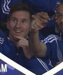 Messi y Mascherano son captados por la