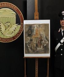 Italia recupera un Picasso de 16 millones con el que pagaron a un enmarcador
