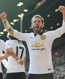 Juan Mata gana el premio a Jugador del mes de marzo del Manchester United