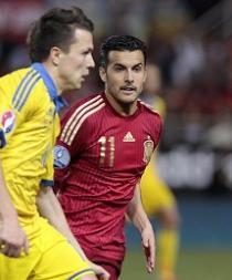 España sufre para ganar a Ucrania con un gol de Morata