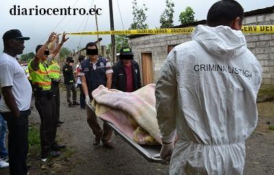 Mujer es asesinada presuntamente por su conviviente en Santo Domingo