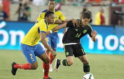 Ecuador pierde 1-0 ante México en el debut de Quinteros