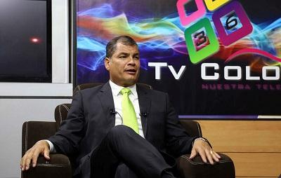 La economía ecuatoriana creció un 3,8% en 2014, según Correa