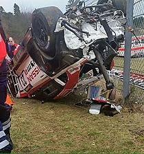 Vehículo se sale de la pista y mata a un espectador en el circuito de Nürburgring