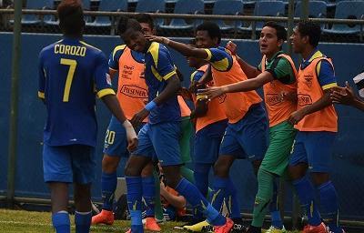Ecuador y Argentina empatan sin goles en el Sudamericano Sub 17
