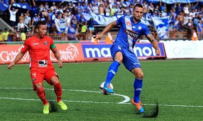 Emelec derrotó por 2-1 a River en el estadio 'Christian Benítez'
