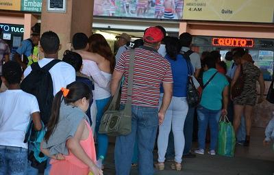 Viajar a Quito desde Santo Domingo cuesta más