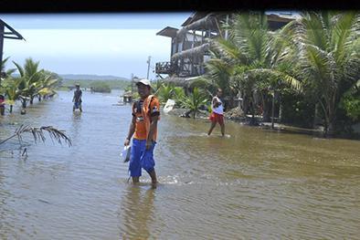 De sequía a inundación