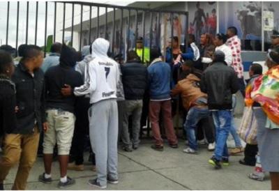 Operativo en Carchi deja un hombre muerto y dos policías detenidos