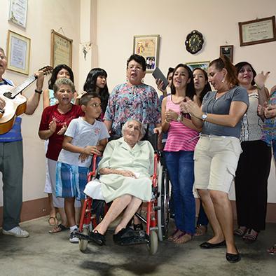 Doña Mercedes, 107 años de una vida ejemplar