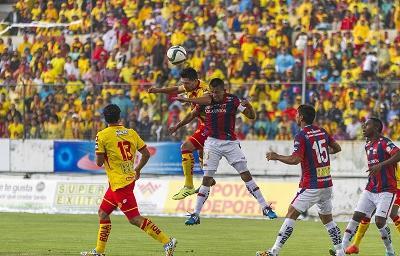 ¡Final del partido! Deportivo Quito venció 3-2 a Aucas