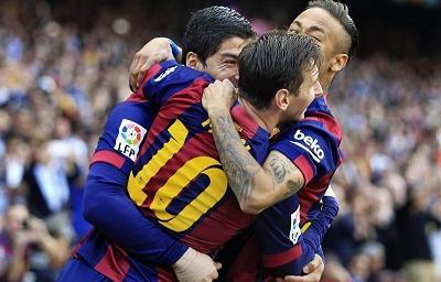 Messi llega a los 400 goles con el FC Barcelona