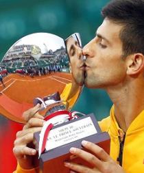 Novak Djokovic alcanza su segundo título en Montecarlo