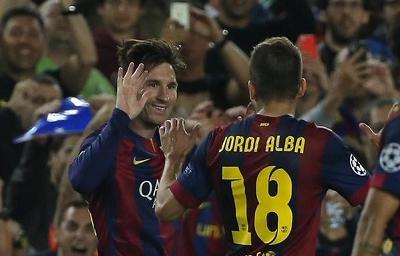 Messi y Neymar dan la ventaja a Barcelona ante el Bayern