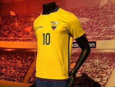 Presentan la camiseta oficial de la 'Tricolor' para la Copa América 2015