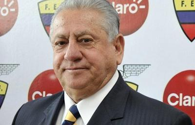 Luis Chiriboga mencionado como presunto receptor de un soborno por Copa América 2015