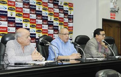La FEF descarta que Luis Chiriboga esté involucrado en escándalo de corrupción