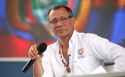 Jorge Glas conoce experiencia de infraestructuras en Colombia