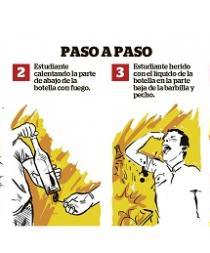 Experimento de Química provoca quemaduras a un estudiante en Santo Domingo