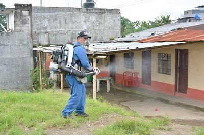 Las zonas más afectadas por el chikungunya en Santo Domingo