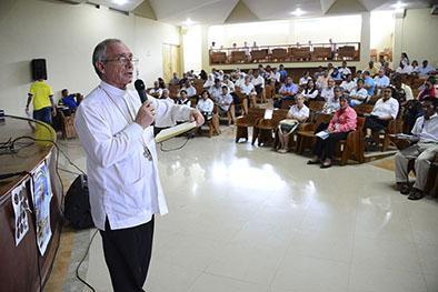Religiosos de siete países en curso de formación