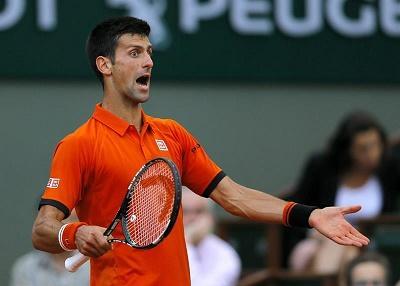 Detienen la semifinal entre Djokovic y Murray por amenaza de lluvia
