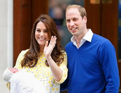 La princesa Charlotte de Cambridge será bautizada el 5 de julio