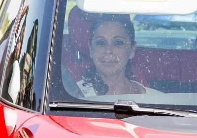 Isabel Pantoja regresa a la cárcel tras cuatro días de permiso