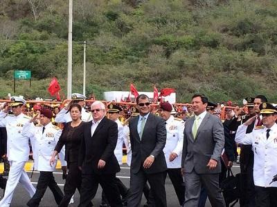 El presidente Correa participa en actos cívicos por la Revolución Alfarista