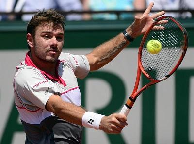Wawrinka, primer finalista de Roland Garros tras derrotar a Tsonga