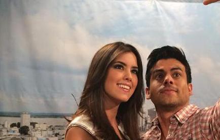 La Miss Universo, Paulina Vega, llegó a Ecuador