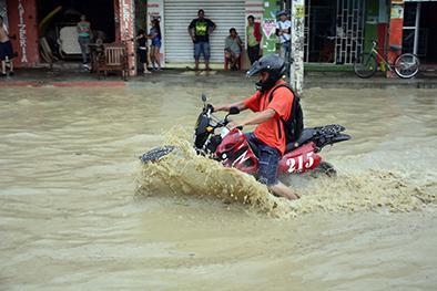 Llueve, pero no es el fenómeno 'El Niño'
