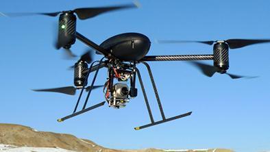 Usan drones para  vigilar a 'copiones'