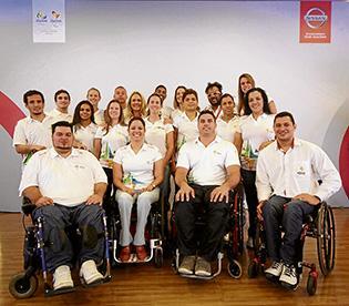 Nissan presente en juegos paralímpicos