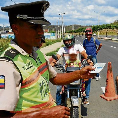 Policía intensifica operativos de motos