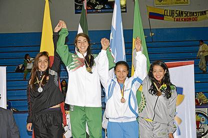 Taekwondistas ganan oro y plata en nacionales