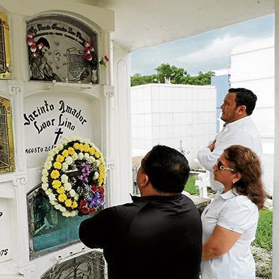 Familiares recuerdan al fiscal Ramón Loor