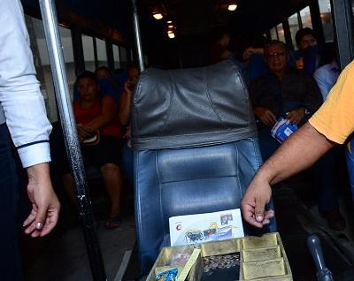 Buses urbanos de Santo Domingo deberán trabajar con la caja común