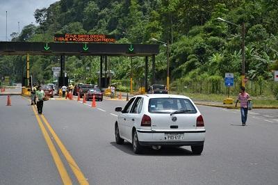 Vía Alóag-Santo Domingo fue habilitada las 24 horas