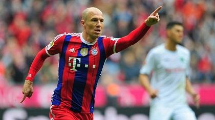 Robben no cree que el Bayern necesite una renovación de la plantilla
