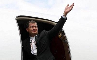 Correa viaja a Bruselas con el objetivo de situar Celac como actor 'emblemático'