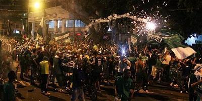 Mueren tres personas en festejos por triunfo del Cali en la Liga colombiana