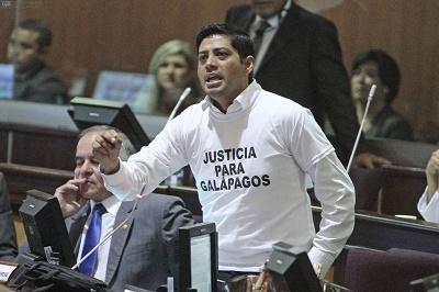 Asamblea Nacional allana a objeción parcial a Ley Galápagos