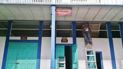 Ubican señales informativas en museo y casa hacienda de Salango