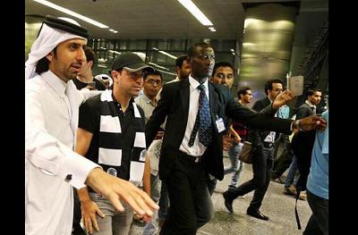 Xavi llega a Catar para ser presentado como nuevo jugador del Al Sadd